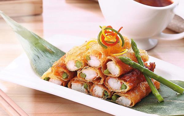 泰式什锦鳕鱼腐皮卷