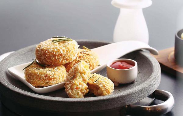真鳕鱼酥饼(点心)